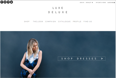 luxe deluxe fashion