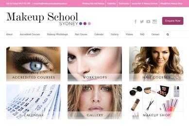 makeup school sydney